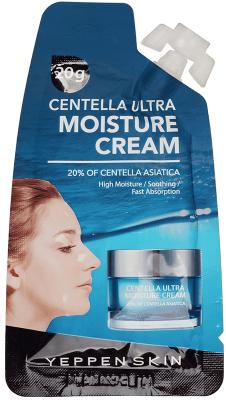 Dermal Yeppen Skin Centella Ultra Moisture Cream Глубокоувлажняющий и разглаживающий дефекты кожи крем для лица с экстрактом центеллы азиатской 20% 15 гр