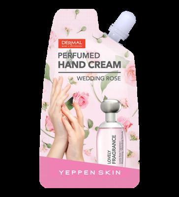 Dermal Yeppen Skin Perfumed Handcream Sweet Peach Парфюмированный увлажняющий крем для рук с экстрактом персика, гиалуроновой кислотой и ароматом сладкого персика 20 гр