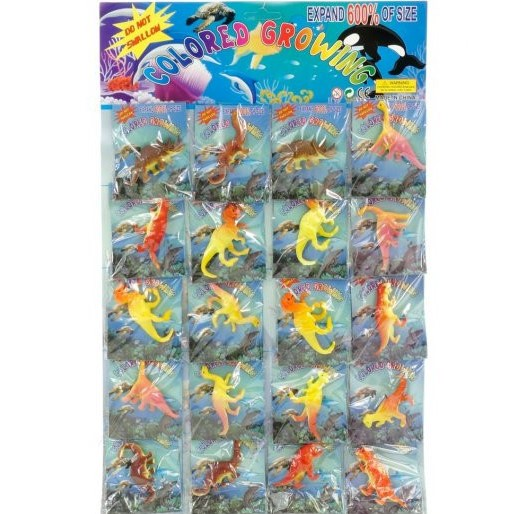 Фигурки растущие в воде Динозавры 1 шт