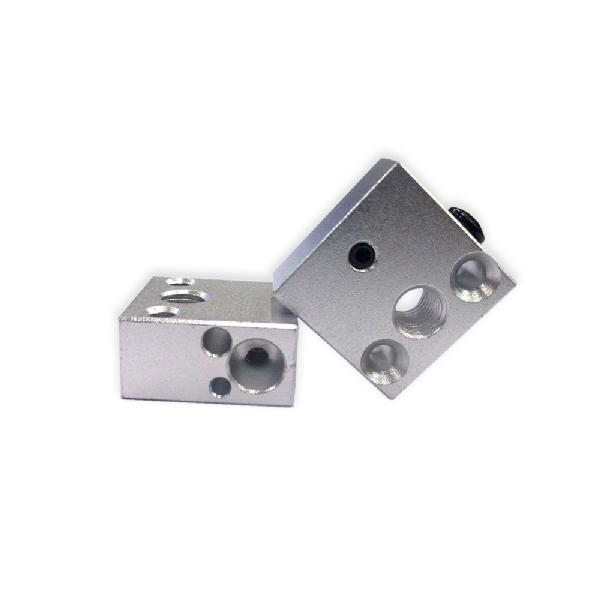 Термоблок для экструдера MK, Тип: CR8;  20х10х20 мм;  М6