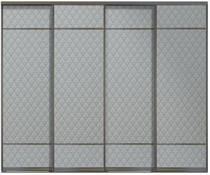 Четырехдверные двери купе - Кожа+Кожа+Кожа