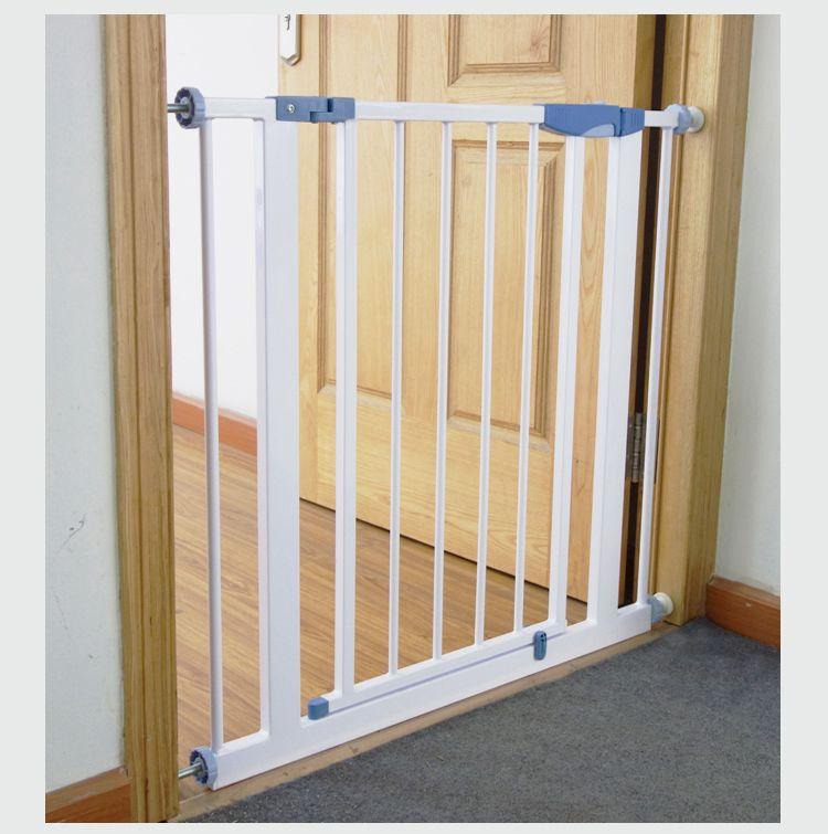 Ворота безопасности 76-83х75 перегородка  барьер без сверления стен (dg01)