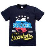 Темно-синяя футболка для мальчишек  купить от Bonito kids