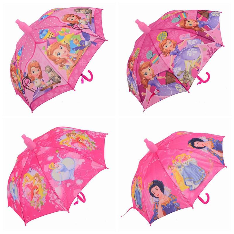Зонт детский Disney для девочек в ассортименте