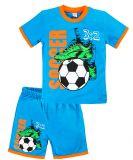 Летний комплект для мальчиков 4-8 лет BONITO kids синий