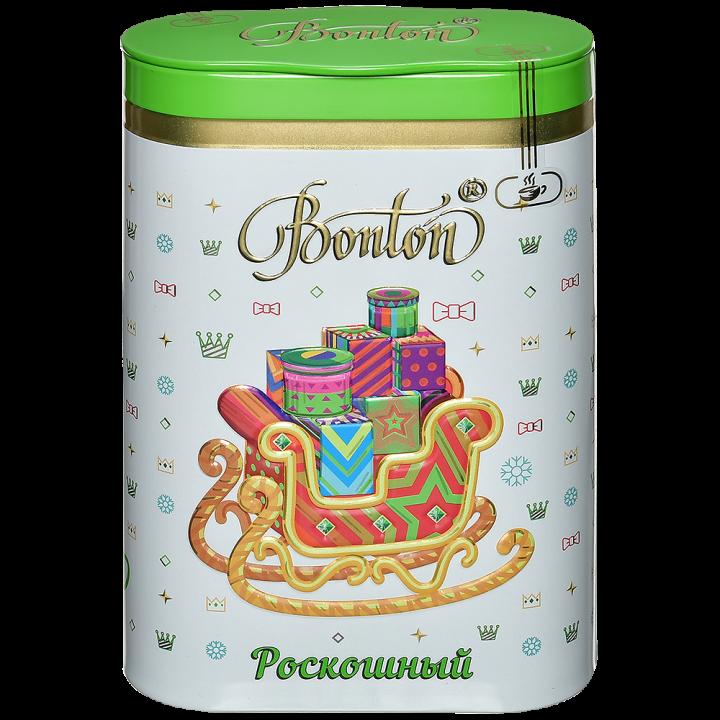 Чай Бонтон Счастливый день черный ж/б 100г