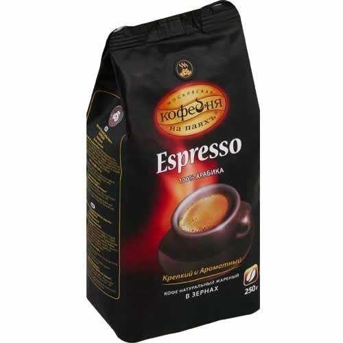 Кофе МКП Эспрессо зерно м/у 250г