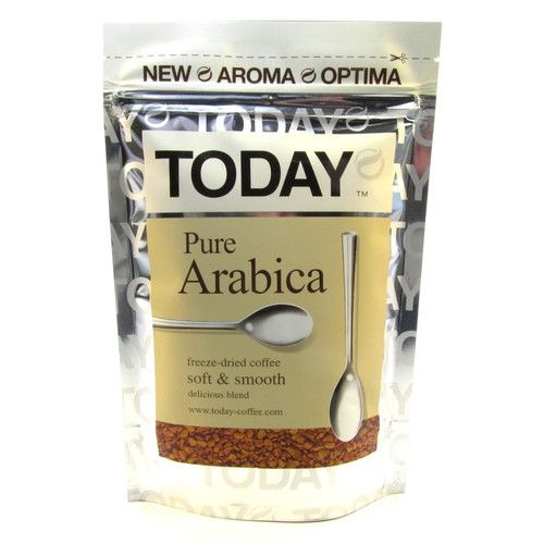 Кофе Today Pure Arabica м/у 75г Германия