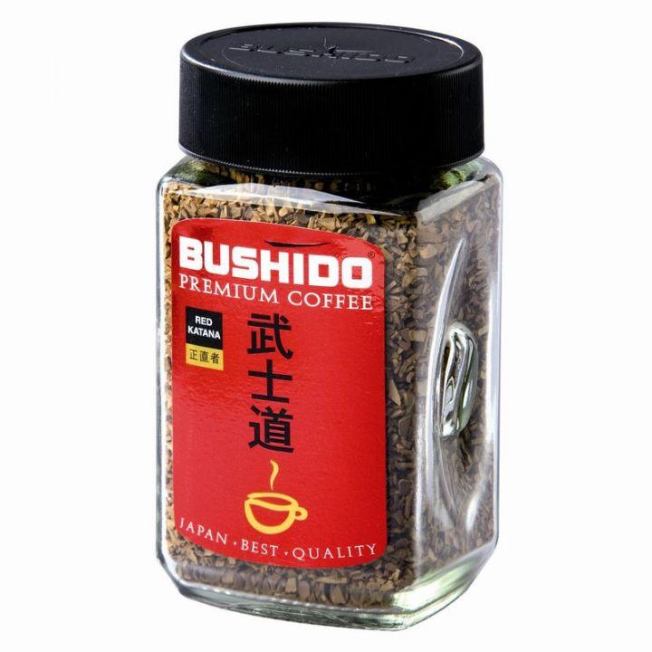 Кофе Бушидо Red Katana кристал ст/б 50г Швейцария
