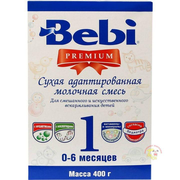 Мол.смесь Беби PREMIUM 1 400г/24 картон