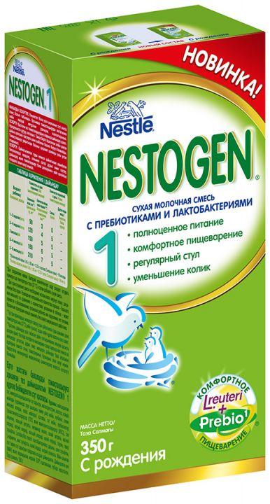 Мол.смесь НЕСТОЖЕН-1 с пребиотиками 350гр