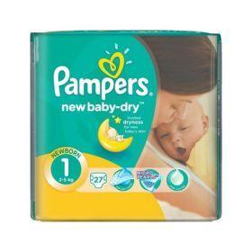 Подгузники Памперс New Baby Newborn 27