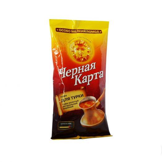 Кофе Черная карта молот д/турки м/у 100г