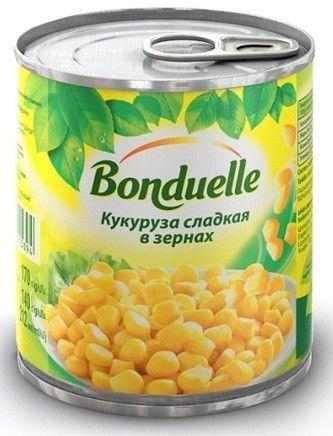 Кукуруза Бондюэль ж/б, 212мл. Россия