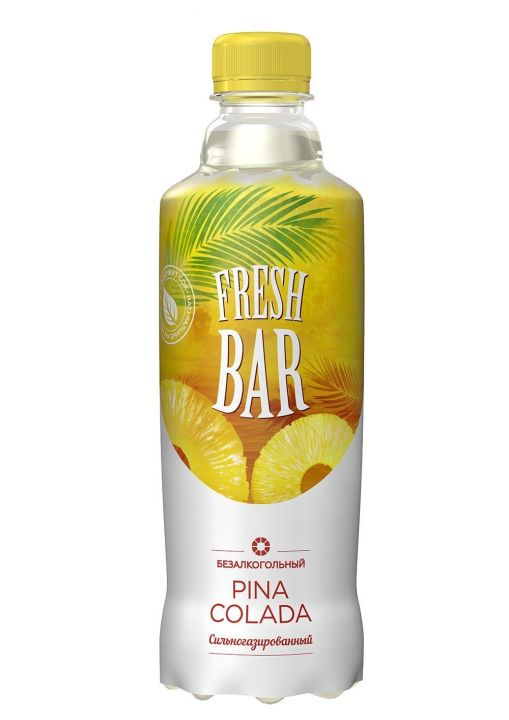 Напиток Fresh Bar Пина Колада газ 1л