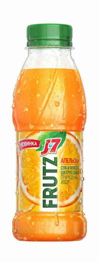 Напиток J7 Frust 0,385л Апельсин пэт