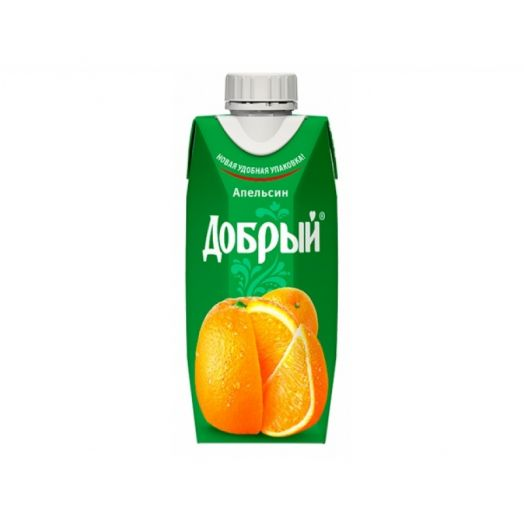 Нектар Добрый 0,33л Апельсин