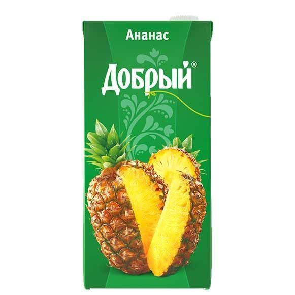 Нектар Добрый 2л Ананас