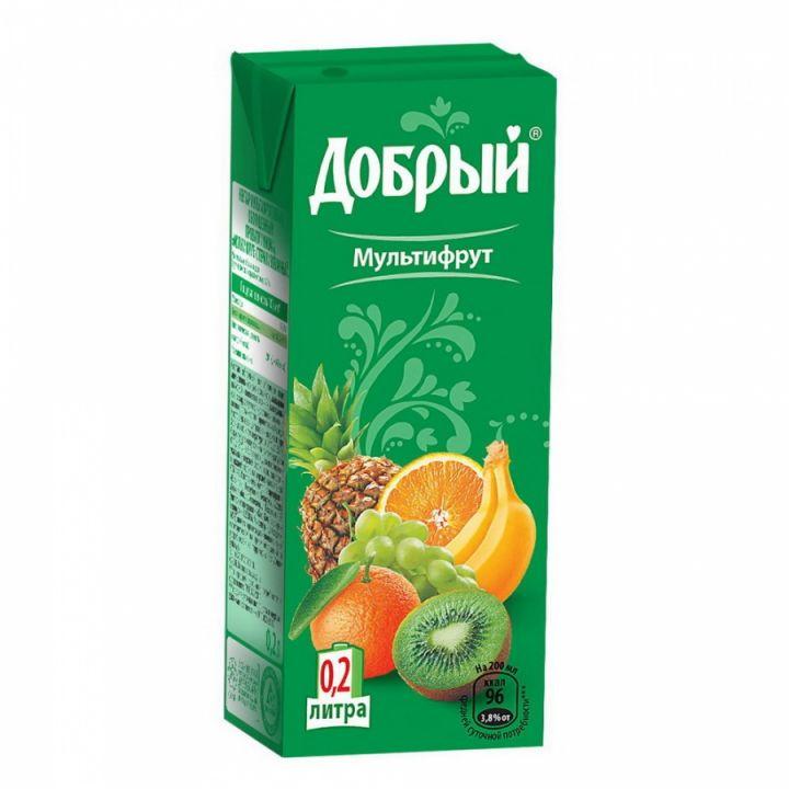 Сок Добрый 0,2л Мультифрукт
