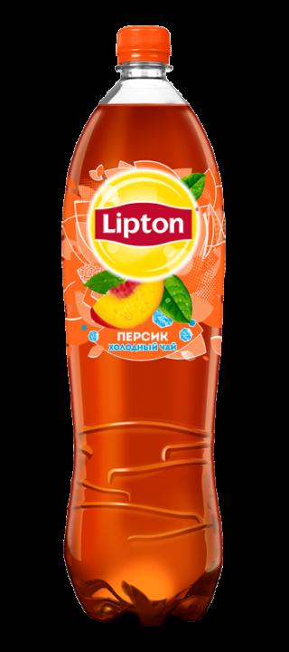 Чай Липтон 1,5л Персик пэт Пепси