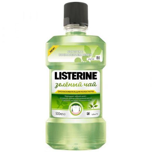 """Ополаскиватель Listerine для полости рта """"Зеленый чай"""" 250мл"""