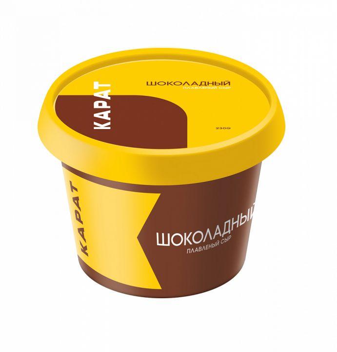 Сыр Карат Шоколадный плавл. 30% п/ст 230г