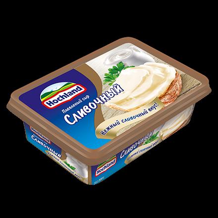 Сыр Хохланд 200г 48% Сливочный ванночка