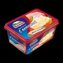 Сыр Хохланд 400г 48% Ветчина ванночка