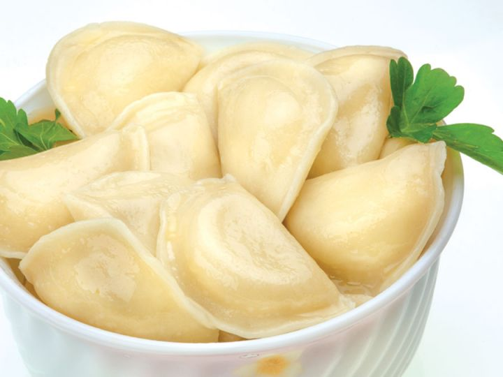 Варенники с картофелем 1кг Абаканские полуфабрикаты