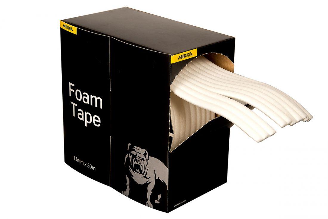 Mirka Самоклеющийся эластичный поролоновый валик Foam Tape 13мм. х 50м.