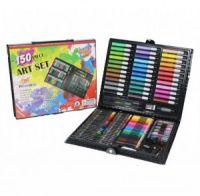 Набор для рисования в чемодане Art Set 150 предметов (цвет черный)_4