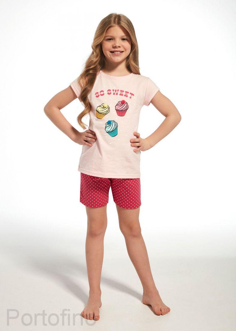 254-63 Пижама для девочек Cornette