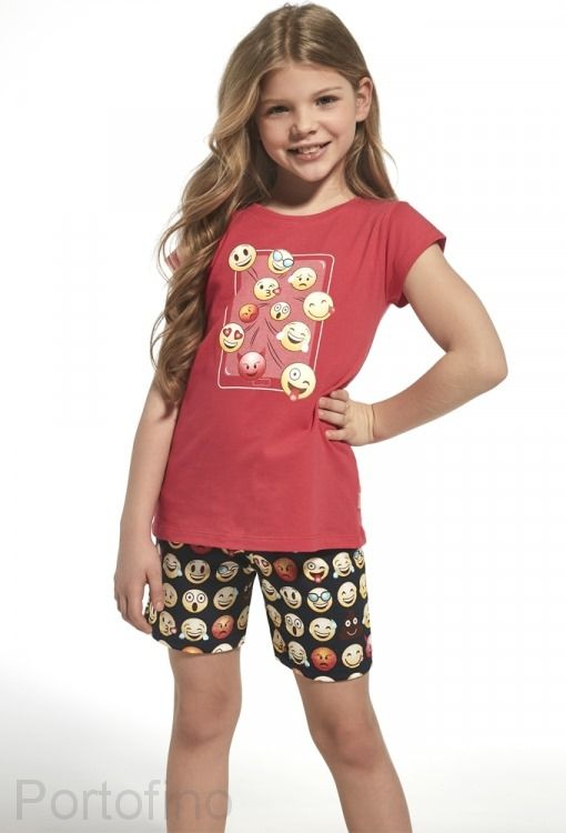 788-64 Пижама для девочек Cornette