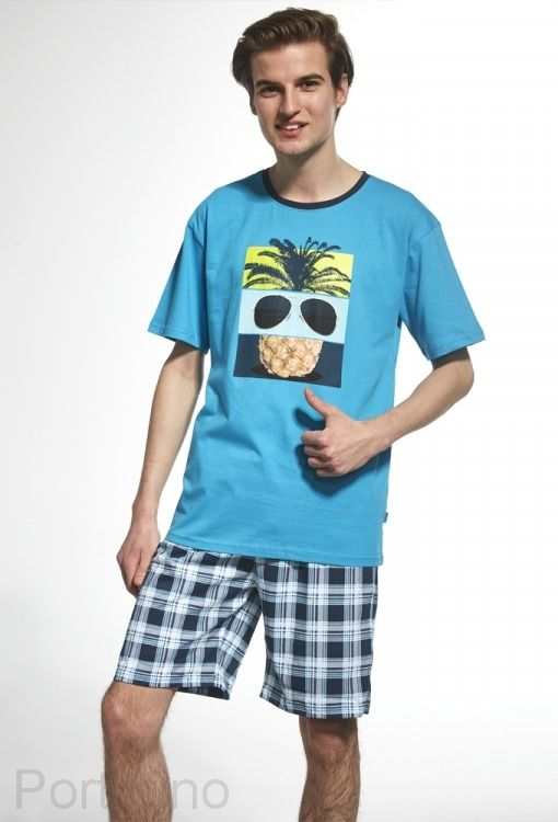 551-27 Пижама для мальчика подростковая Cornette