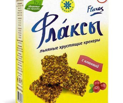 Флаксы с клюквой Компас здоровья - 120 гр