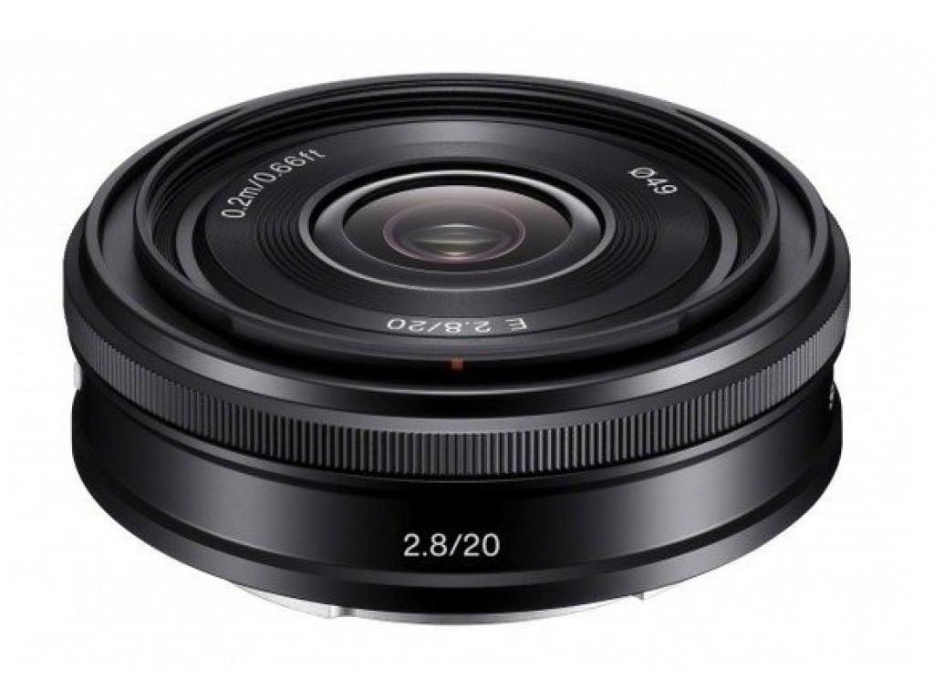 Sony 20mm f/2.8 E (SEL-20F28)