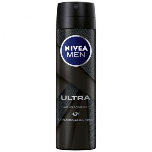 Антиперспирант-спрей Nivea Men Ultra 150мл
