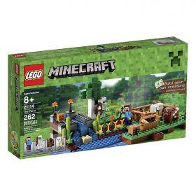 Lego Minecraft 21114 Ферма (дефект упаковки)