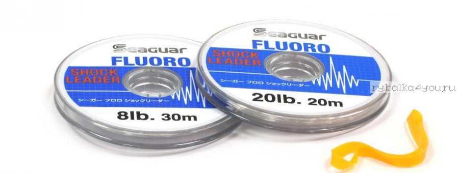 Флюорокарбон Kureha Seaguar Shock Leader 30 м