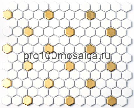 P-517 Мозаика СОТЫ, серия PORCELAIN, размер, мм: 260*300 (NS Mosaic)