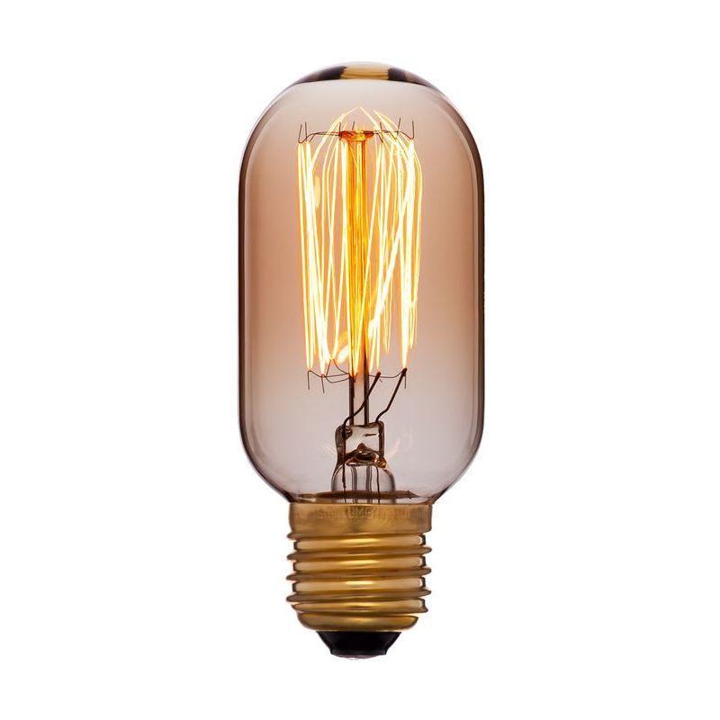 Лампа накаливания E27 40W золотая 051-934