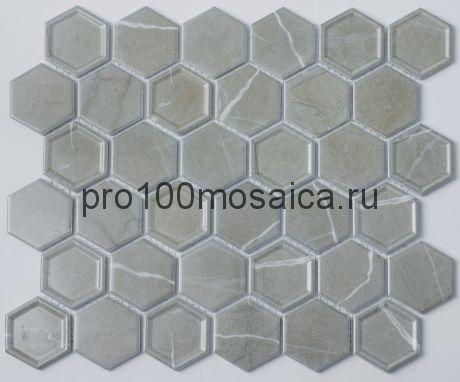 P-504. Мозаика СОТЫ, серия PORCELAIN,  размер, мм: 325*281 (NS Mosaic)