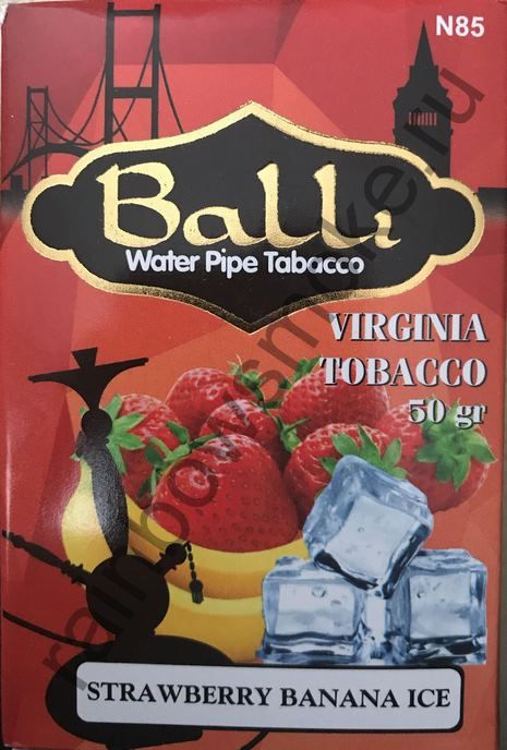 Balli 50 гр - Strawberry Banana Ice (Клубника Банан Лед)