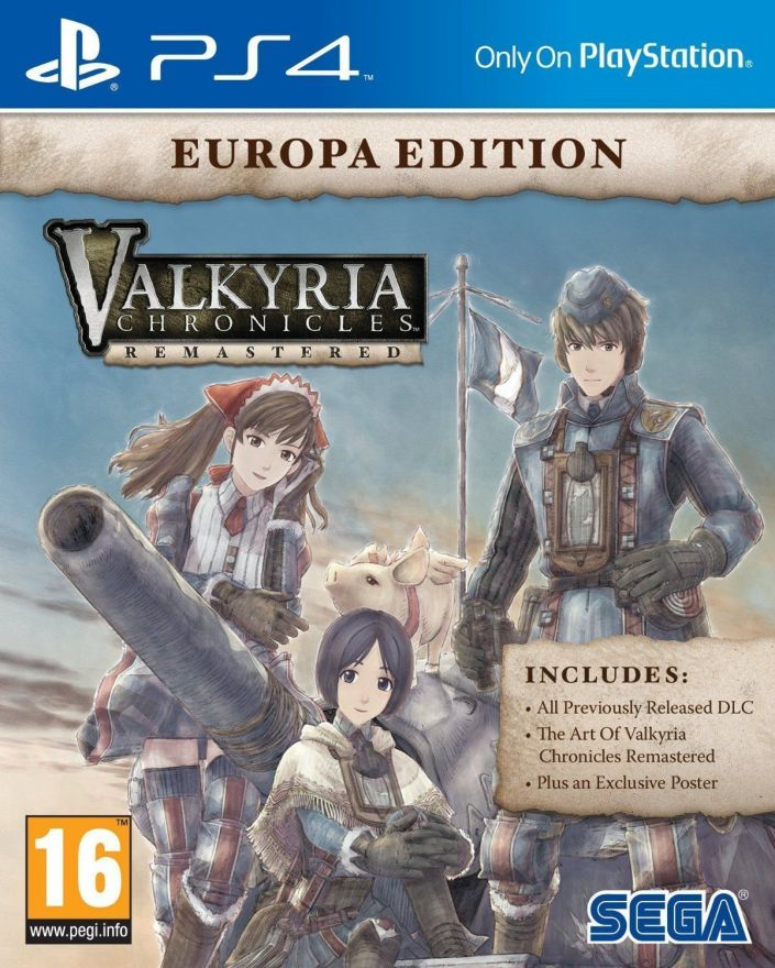 Игра Valkyria Chronicles Remastered. Europa Edition (PS4)