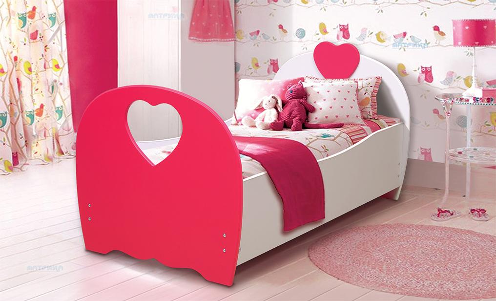 """Кровать детская """"Сердце"""" (от 700 до 800)"""