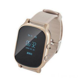 Умные детские часы с GPS Smart Baby Watch T58, Золото