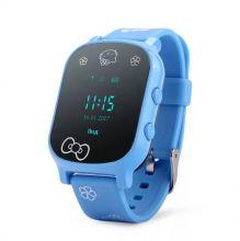 Умные детские часы с GPS Smart Baby Watch T58, Голубой