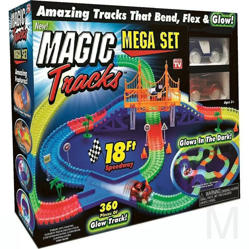 Волшебный трек MAGIC Tracks 360 деталей