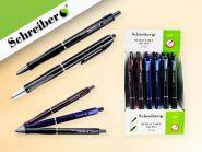 Ручка шариковая с чернилами на масляной основе, 0.7 mm, цвет чернил - СИНИЙ, 3 цвета корпуса в ассортименте (арт. S 815)