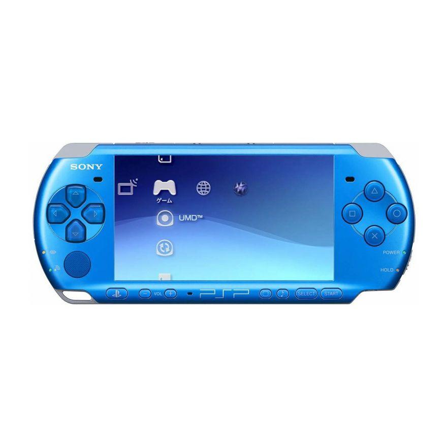 Игровая приставка Sony PSP Slim 3000 Blue
